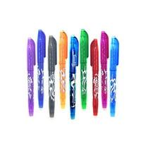 0.5mm Erasable Bullet Neutral Pen School Office Erasable Gel Ink Pen 9 Colors