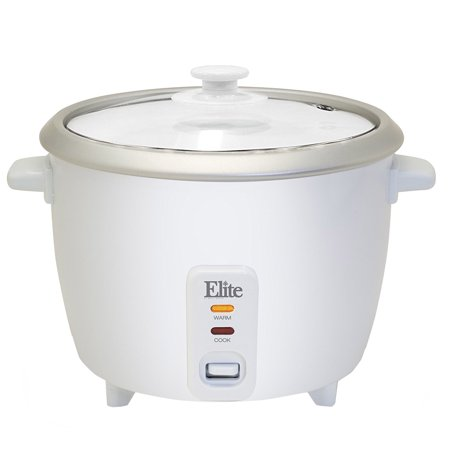 Elite Gourmet ERC-008ST 8-Cup Rice Cooker with Steam