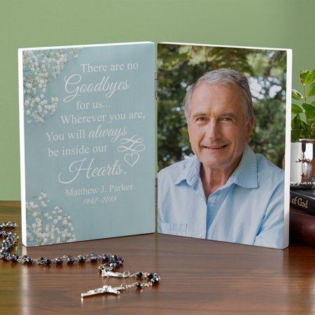 Personalized Inside My Heart Memorial Photo Panel