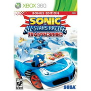 Sonic & All-Star Racing Transformed Bonus Edition, SEGA, XBOX 360, 010086680638