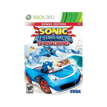 Sonic & All-Star Racing Transformed Bonus Edition, SEGA, XBOX 360, (Sonic And All Stars Racing Transformed Characters)