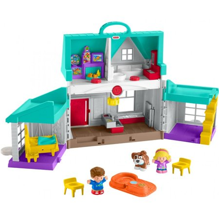 Little People Big Helpers Interactive Home Play Set