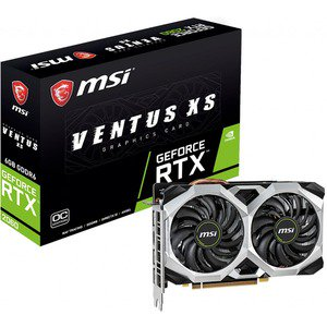 MSI VENTUS GeForce RTX 2060 VENTUS XS 6G OC GeForce RTX 2060 Graphic Card - 1.71 GHz Boost Clock - 6 GB