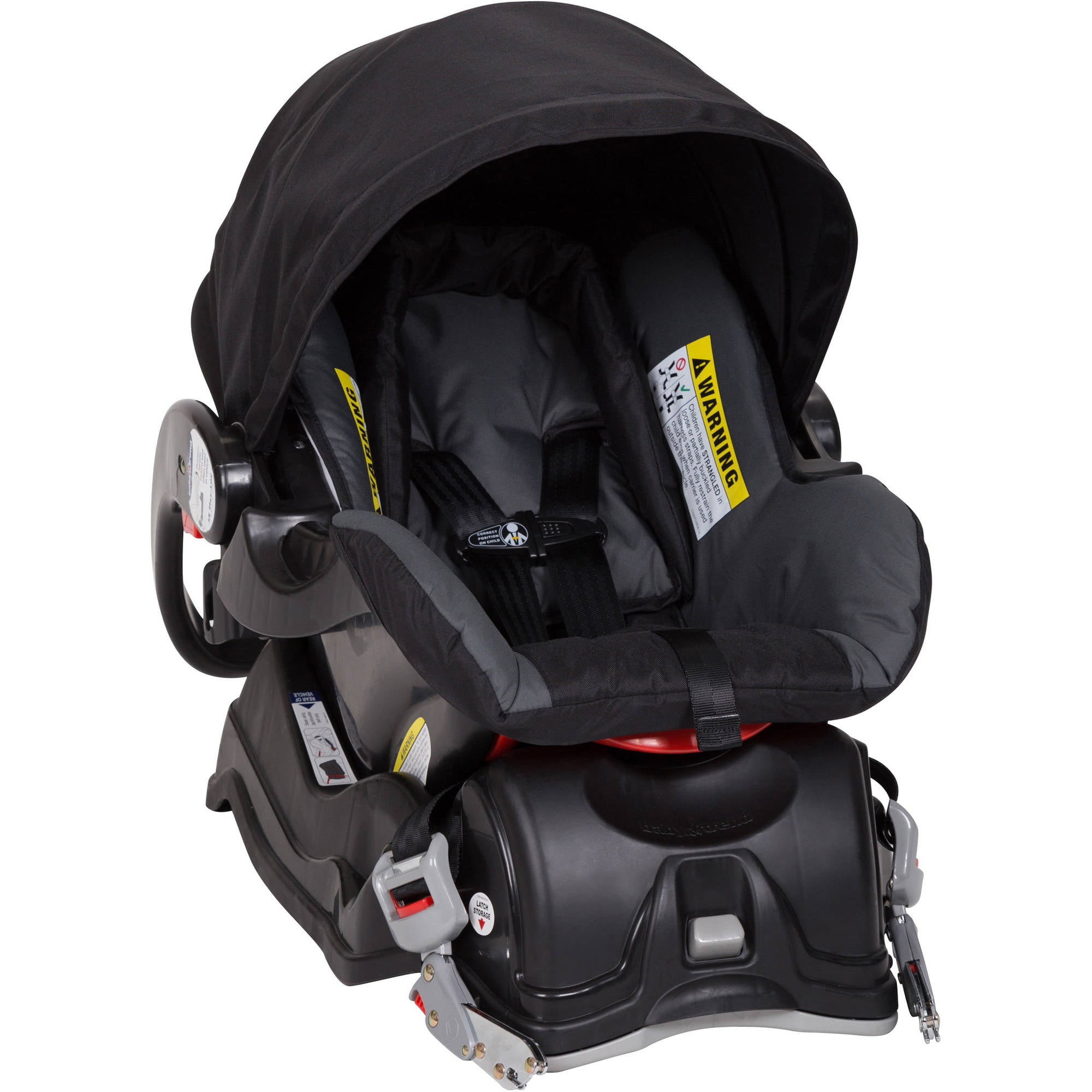 Infant Car Seat Boulder Smooth Ergonomic Carrying Handle 1