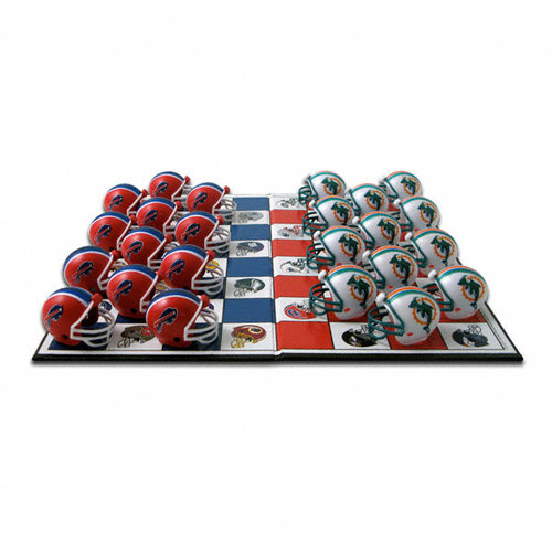 Buffalo Bills Bills Checker Set