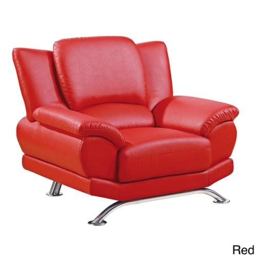 U9908 Bonded Leather Chair Red