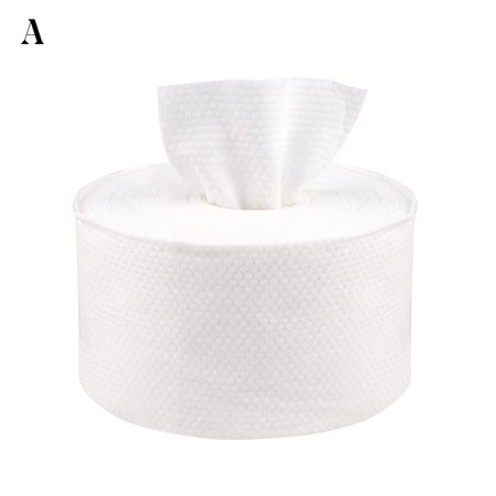 Essen Disposable Face Towel Facial Cleansing Makeup Remover Cotton Tissue Paper Roll - image 5 of 7