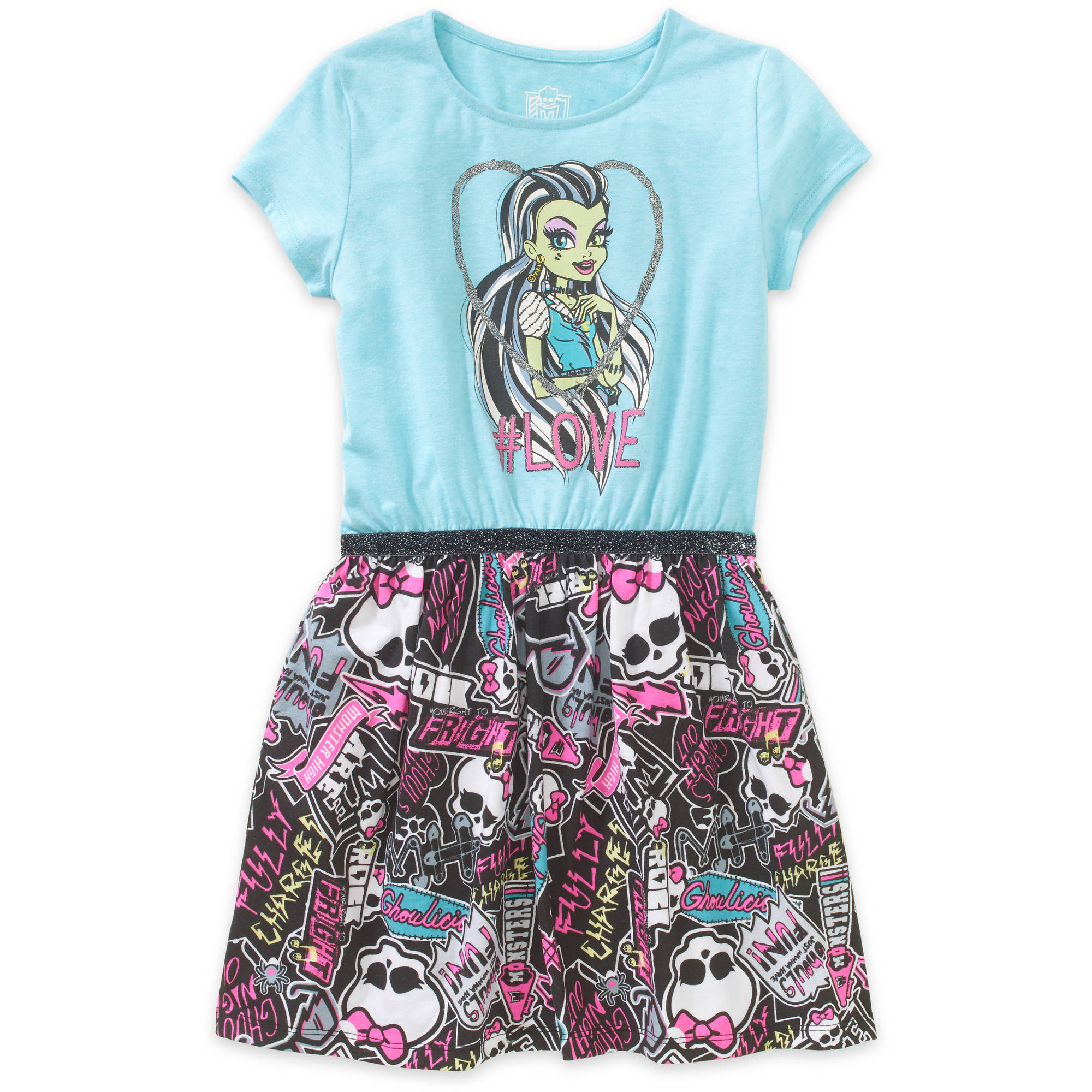 Monster High Girls' T-Shirt Dress