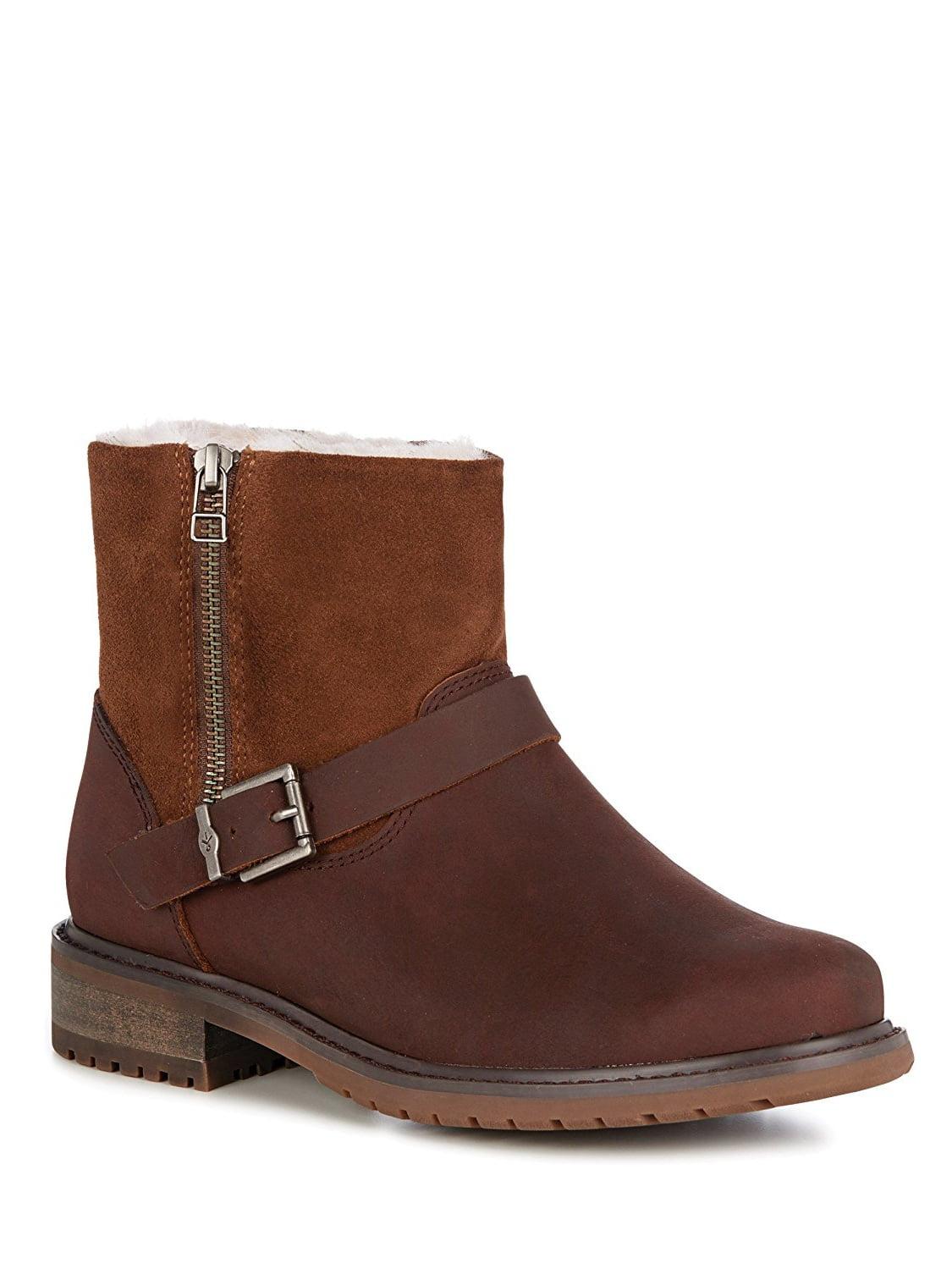 EMU Australia Roadside Womens Deluxe Wool Waterproof Boots in Oak