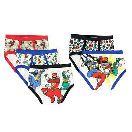 Power Rangers Boys Underwear 5 Pack