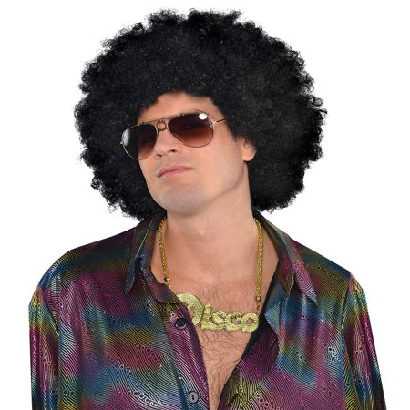 Oversized Afro Wig Adult Costume Accessory