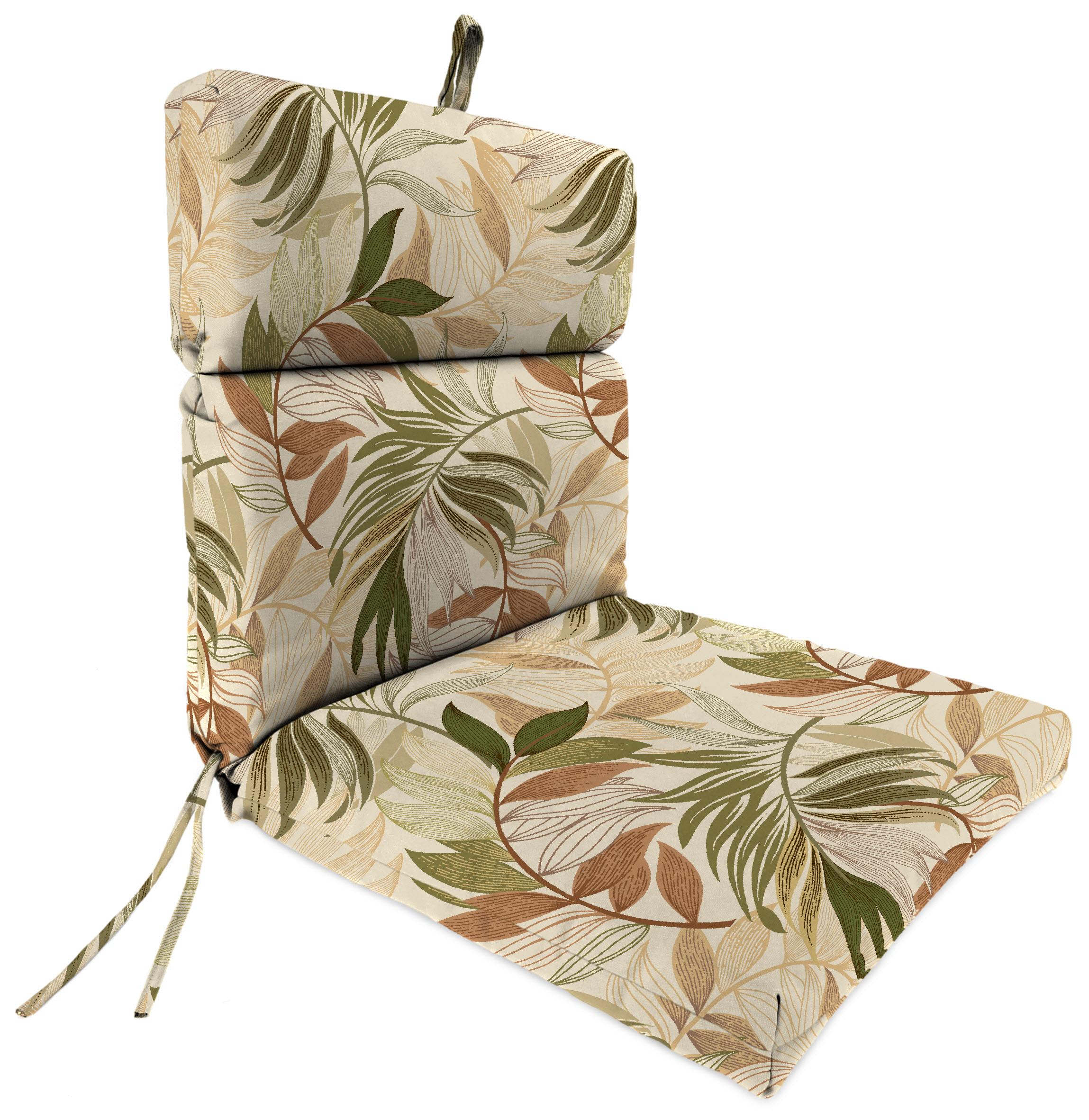 """Outdoor 22"""" x 44"""" x 4"""" Chair Cushion"""