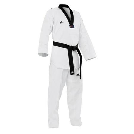 adidas Taekwondo WTF Approved Uniform Dobok, Black