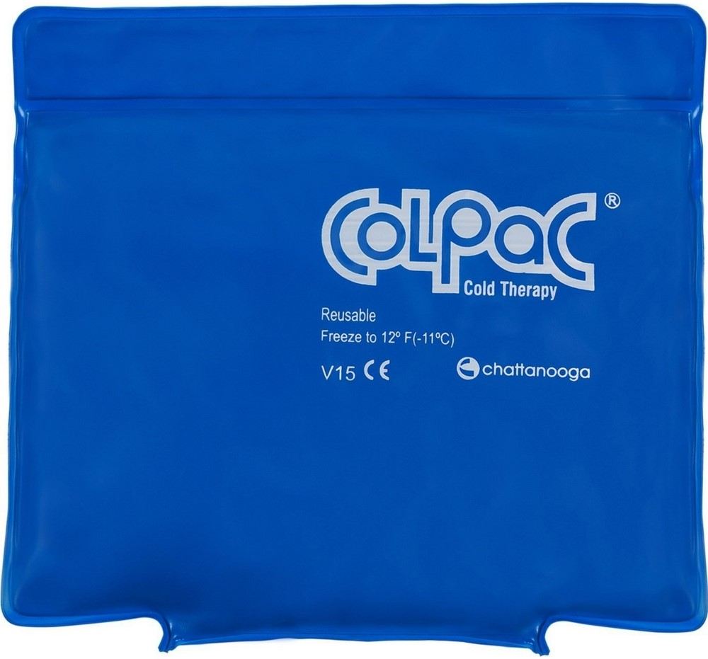 "ColPac blue-vinyl reusable cold pack, neck (6 x 23"")"