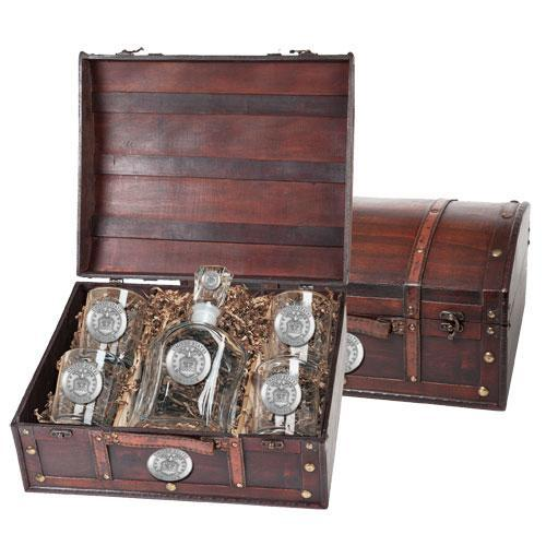 United States Air Force Capitol Decanter Chest Set