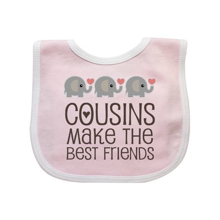 Cousins Make The Best Friends Baby Bib