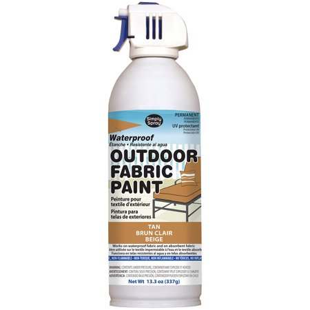 Outdoor Spray Fabric Paint 13.3oz-Tan