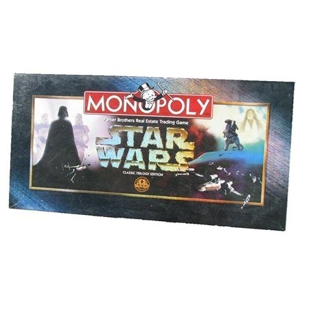 Monopoly Star Wars Classic Trilogy Edition - Monopoly Classic Edition