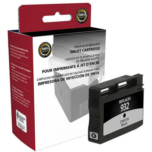 CIG Remanufactured Black Ink Cartridge (Alternative for HP CN057AN 932) (400 Yield)