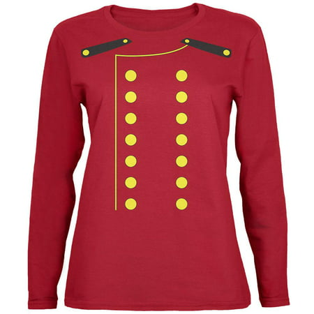 Halloween Hotel Bellhop Costume Womens Long Sleeve T Shirt (The W Hotel Boston Halloween)