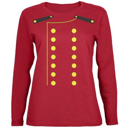 Halloween Hotel Bellhop Costume Womens Long Sleeve T Shirt