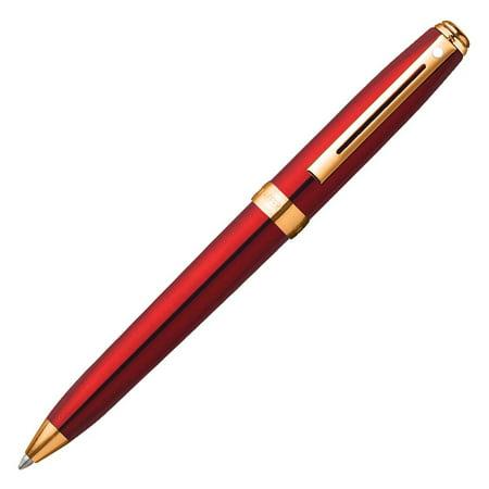- Sheaffer Prelude Mini Ballpoint Pen - Translucent Red
