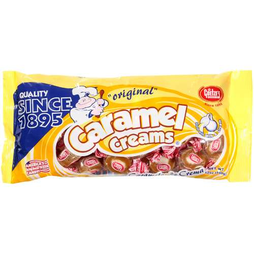 Caramel Creams: Original Caramel Creams, 12 Oz