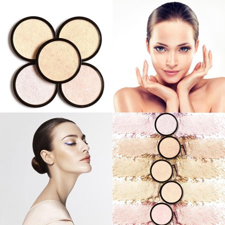 Face Shimmer Makeup Tool Single Brightening Face Squeezed Highlighter PowderRllYE