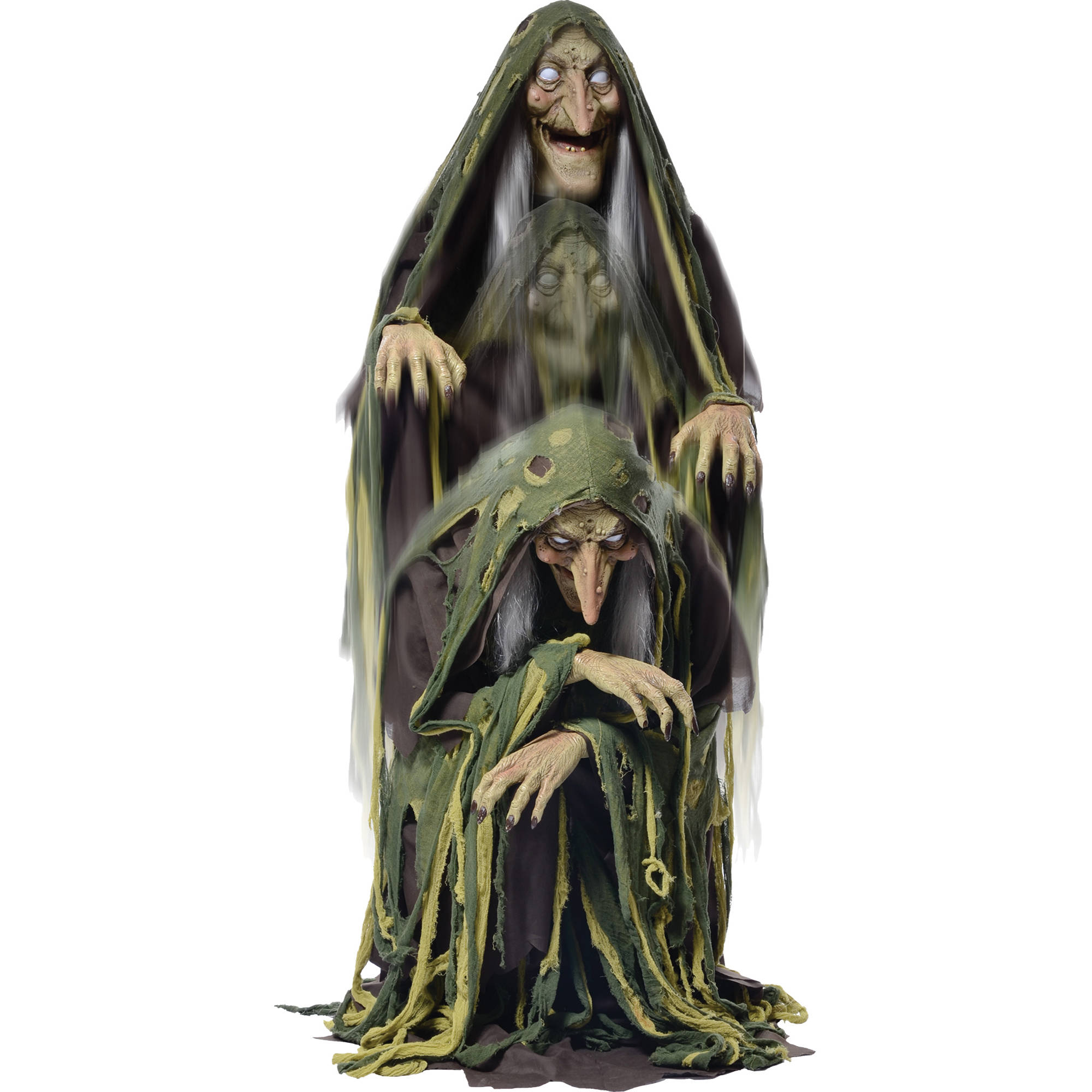 Swamp Hag Rising Animated Halloween Decoration