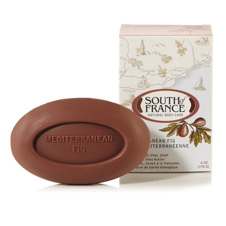 South of France French Milled Oval Soap Mediterranean Fig, 6 Oz