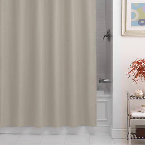 Excell Dobby Fabric Shower Curtain Liner by Overstock