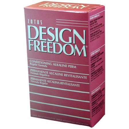Design Freedom Regular Alkaline Perm for Normal, Resistant or Gray Hair By