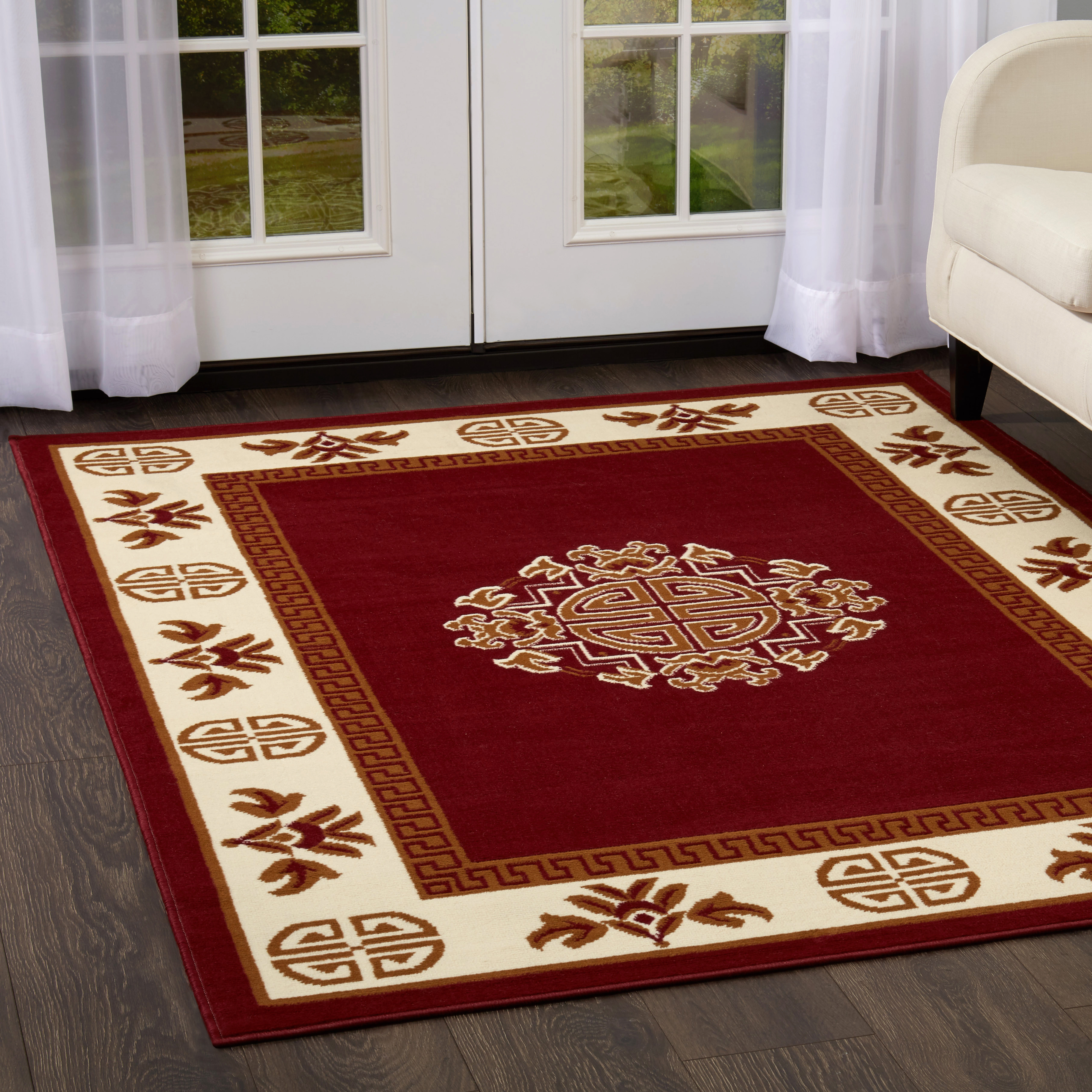 Home Dynamix Premium Tribal Sand Area Rug