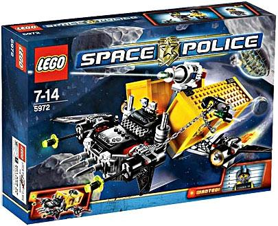 Lego Space Police Space Truck Getaway Set #5972 [Container Heist] by