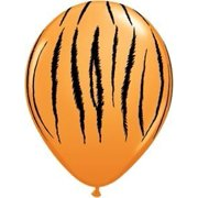 "- 11"" Tiger Stripes Latex Balloons Bag of 10, 11 Qualatex Latex Balloon. Qualatex balloons are manufactured to exacting quality standards and are considered The Very.., By Single Source Party Supplies"
