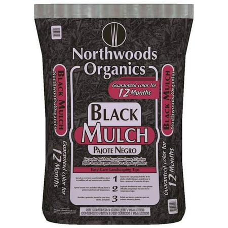 - MULCH BLACK 2 CUBIC FEET