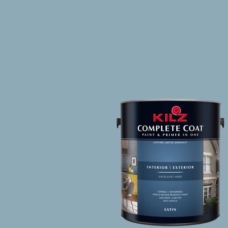 KILZ COMPLETE COAT Interior/Exterior Paint & Primer in One #RD270-01 Abstract - Uv Paint Ideas