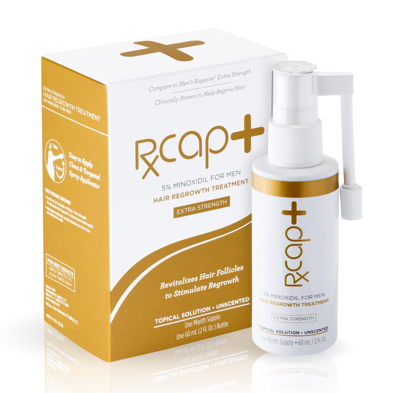 RXCap+ 5% Minoxidil Hair Regrowth Treatment For Men