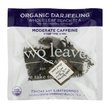 Two Leaves and a Bud, Inc., Organic Darjeeling Black Tea, 100