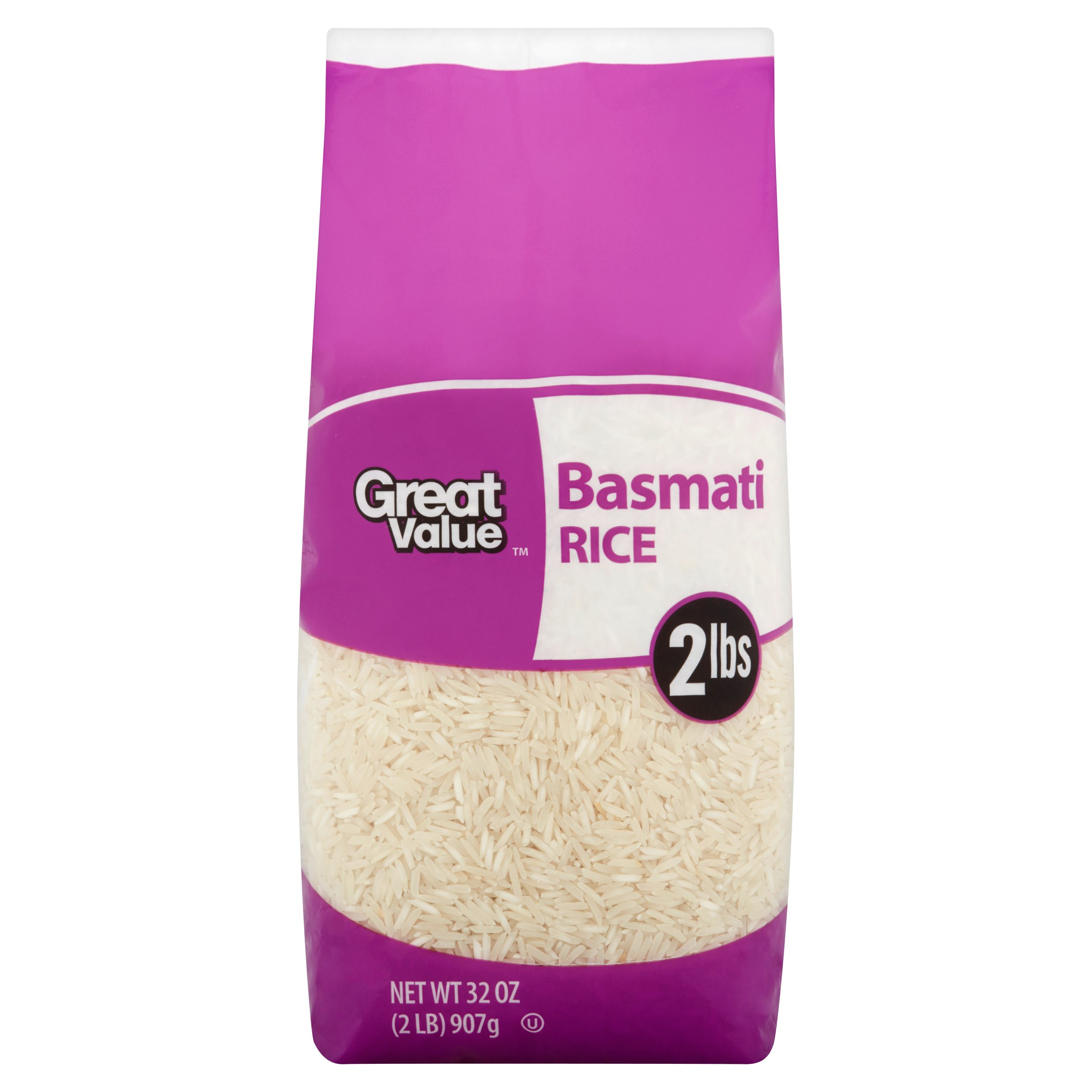 Great Value Basmati Rice, 2 lb by Wal-Mart Stores, Inc.