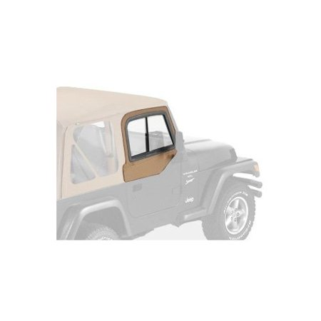 Bestop Door Sill - Bestop 51787-37 Jeep Wrangler Upper-Door Sliders, Spice