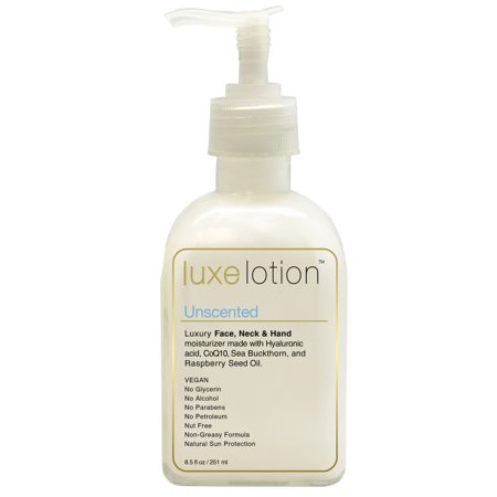 LuxeBeauty, Luxe Lotion, Luxury Face, Body, & Hand Moisturizer, Unscented, 8.5 fl oz (251