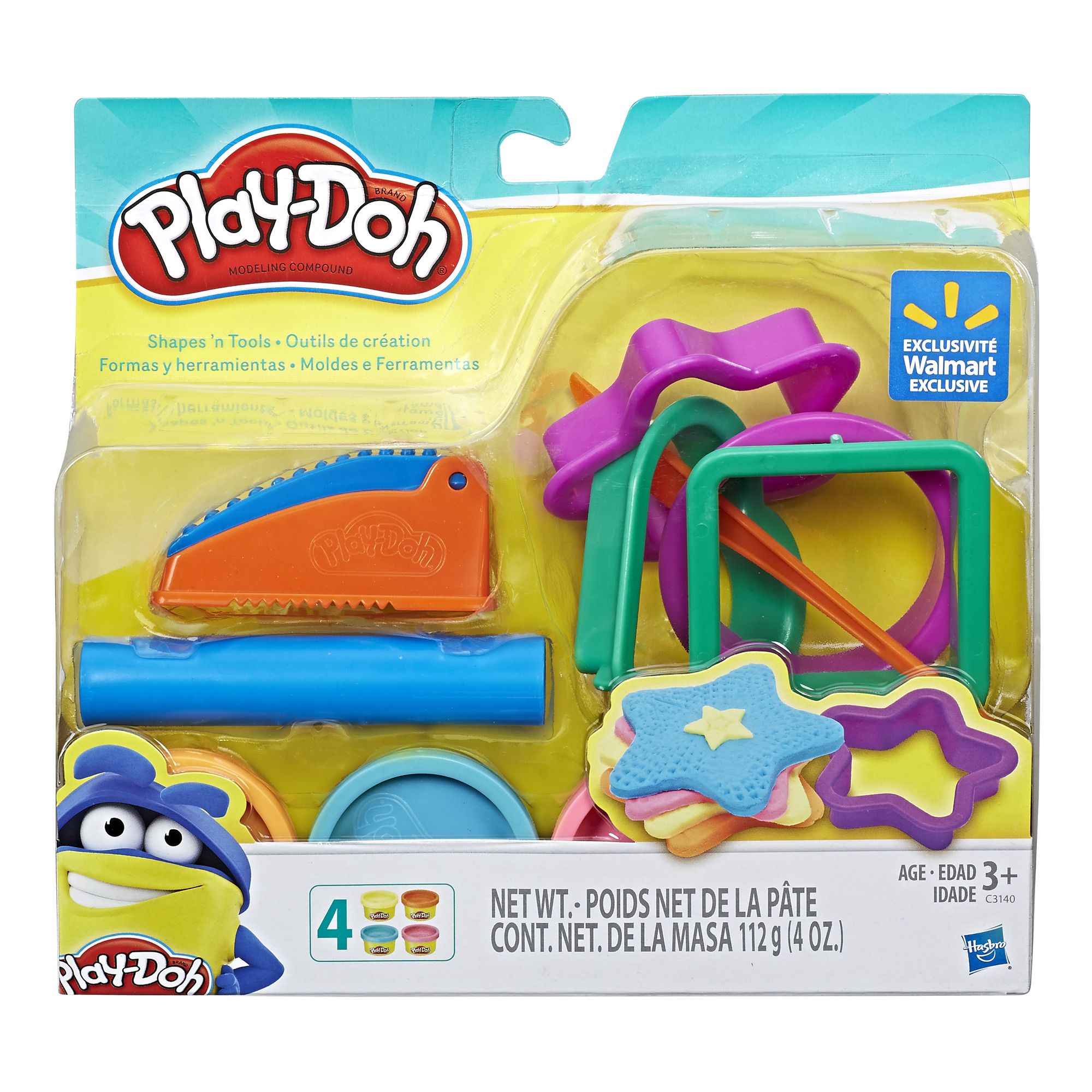 Play-Doh Shapes 'N Tools Set