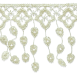 Expo Int'l 10 yards of Abigail Victorian Lace Fringe Trim