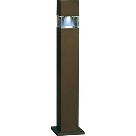 Dabmar Lighting D154-BZ-MT 70W Fiberglass Bollard with High Pressure Sodium Lamp, Bronze - 42.44 x 9 x 9 in. - image 1 of 1