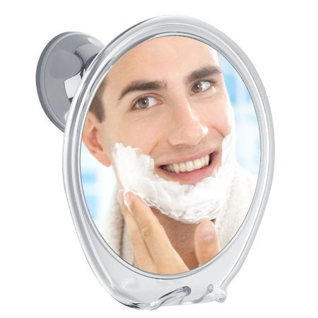 3X Magnifying Fogless Shower Mirror, with Razor Hook for Anti Fog Shaving, 360 Degree Rotating for Easy Mirrors Viewing, Super Strong Power Lock Suction Cup, Enhance Your Shave Experience Now Anti Fog Shaving Mirror
