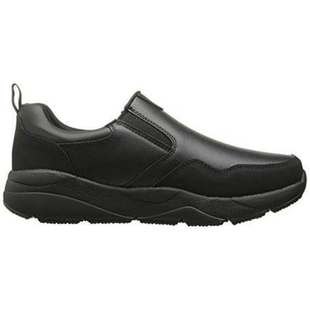 Skechers for Work Men's Resterly Work Shoe, Black, 10 M