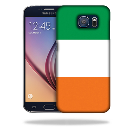 MightySkins Snap-On Protective Hard Case Cover for Samsung Galaxy S6 Irish Flag