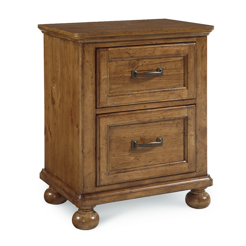Bryce Canyon 2 Drawer Nightstand - Heirloom Pine