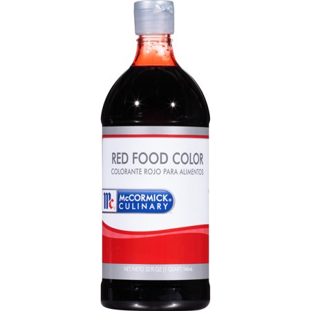 McCormick Culinary Red Food Color, 1 qt](Halloween Food Coloring)